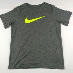 🌴 3/$20 Nike Unisex Short Sleeve Top Dri Fit Gray